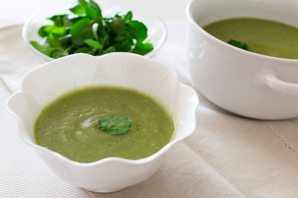 """Sopa de agrião e couve-flor, o """"dr recomenda""""!"""
