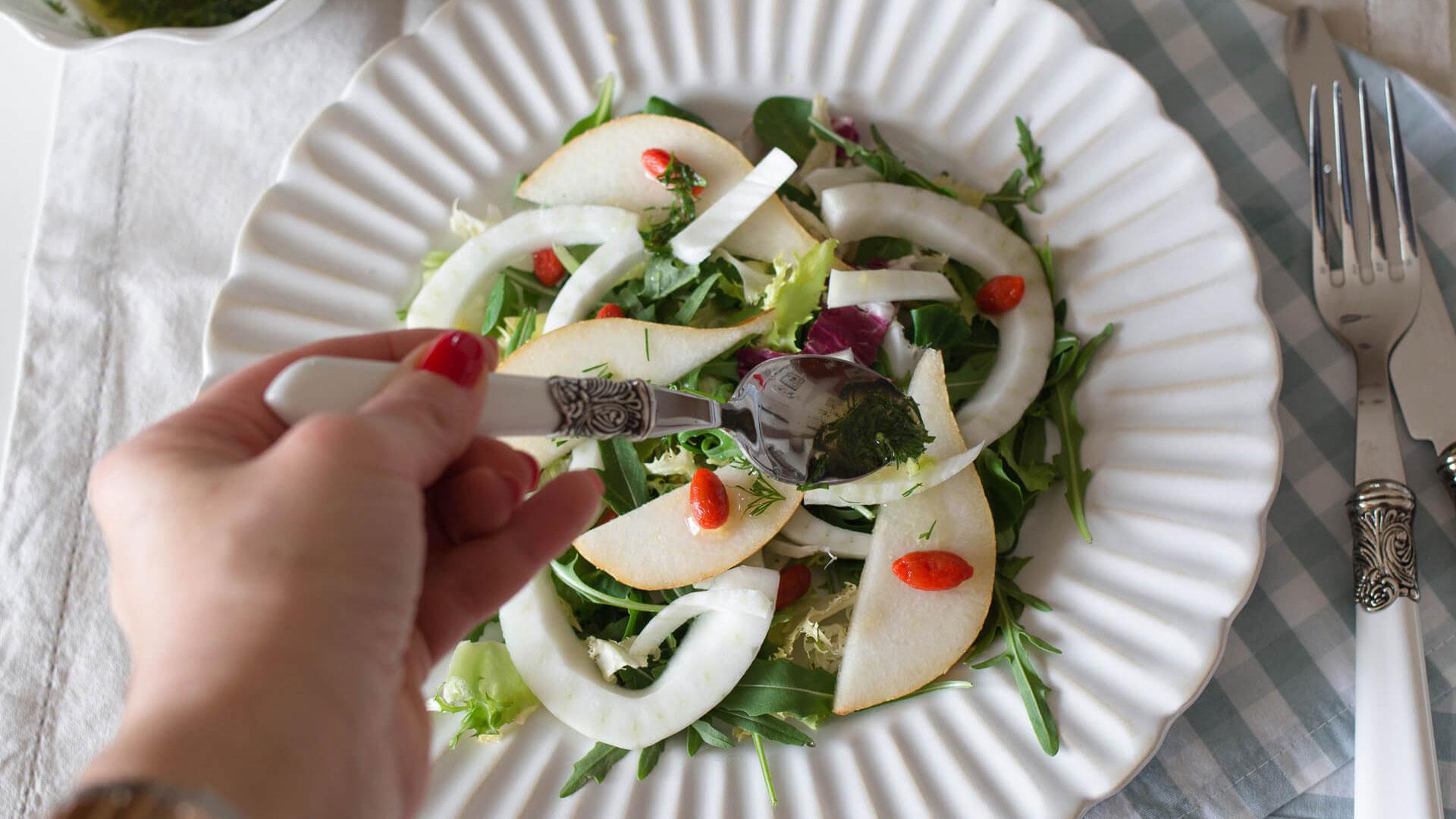 Salada de Pera e Funcho
