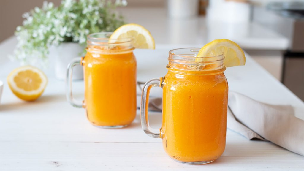 Orange Dream: Um Smoothie Saudável, anti-aging por excelência