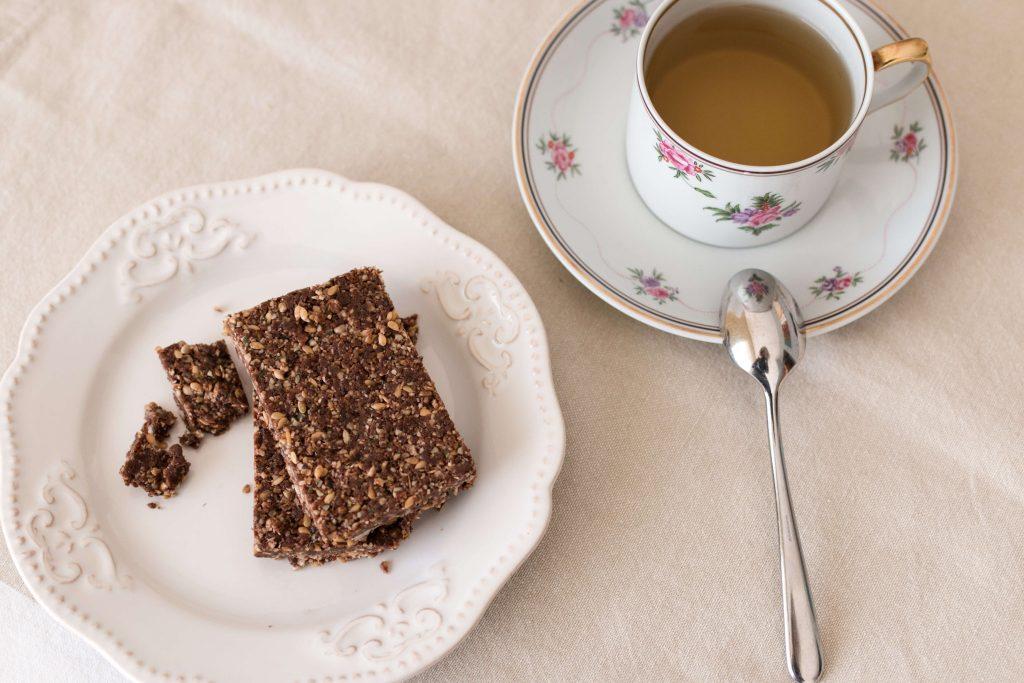 Barras de Chocolate e Sésamo